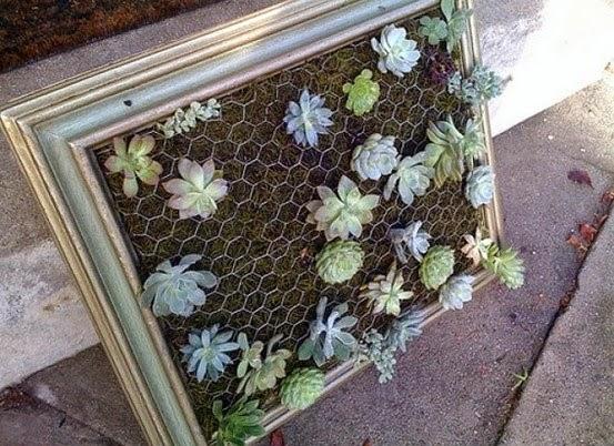 DIY, decora tus paredes con jardines verticales