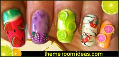 Decorating theme bedrooms maries manor nail art fruit nail nail art fruit nail designs fruit nail art prinsesfo Images