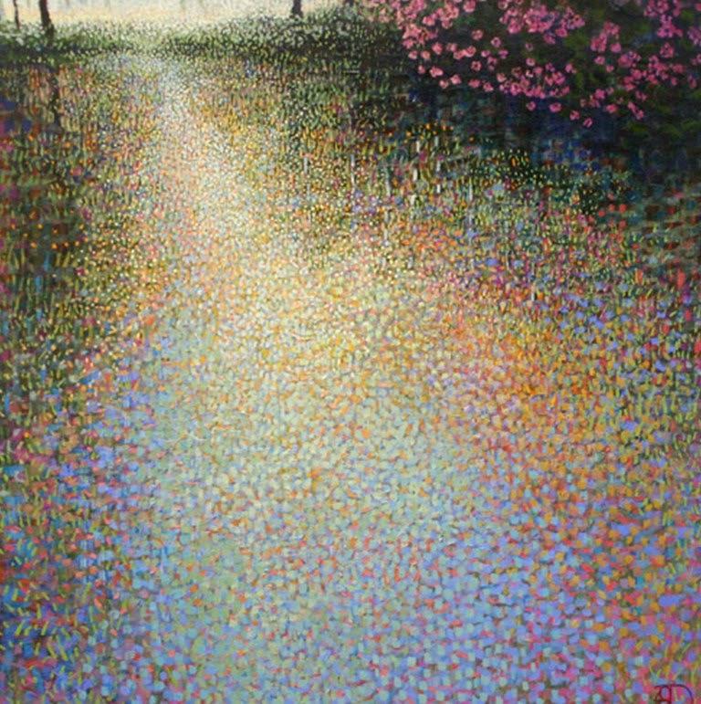 paisajes-con-flores-y-arboles-en-puntillismo