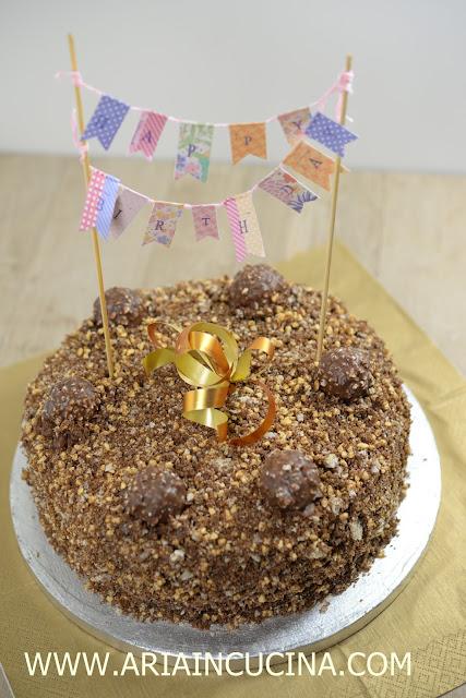 Blog di cucina di Aria: Torta Rocher