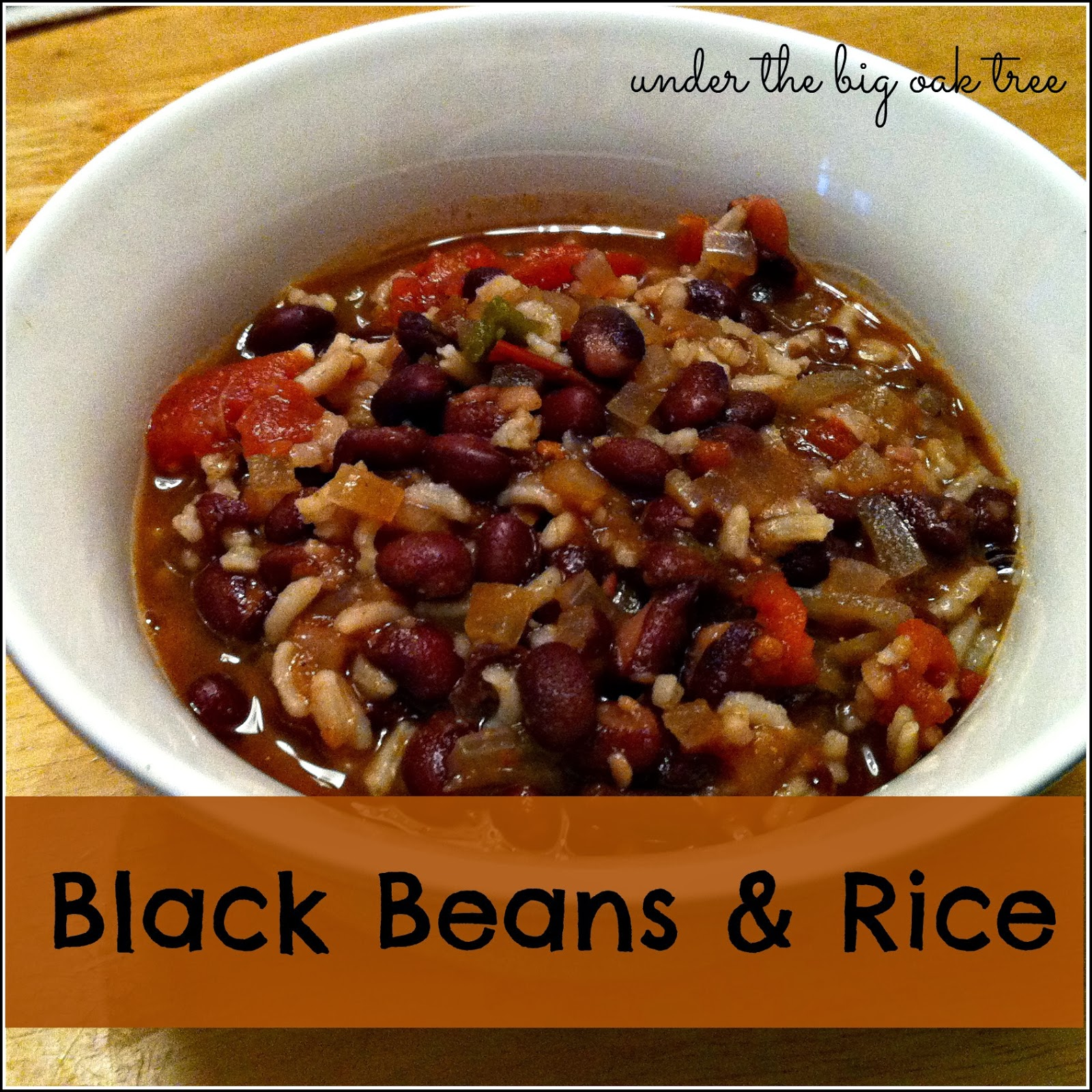 black beans and rice adapted from chipotle black bean rice