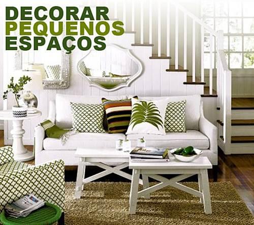 Decoracao De Sala Quarto Pequenos ~ Decoração de ambientes pequenosSala,Cozinha e Quartos