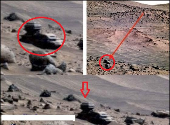 Rover photographs a strange structure on Mars!-Flash News