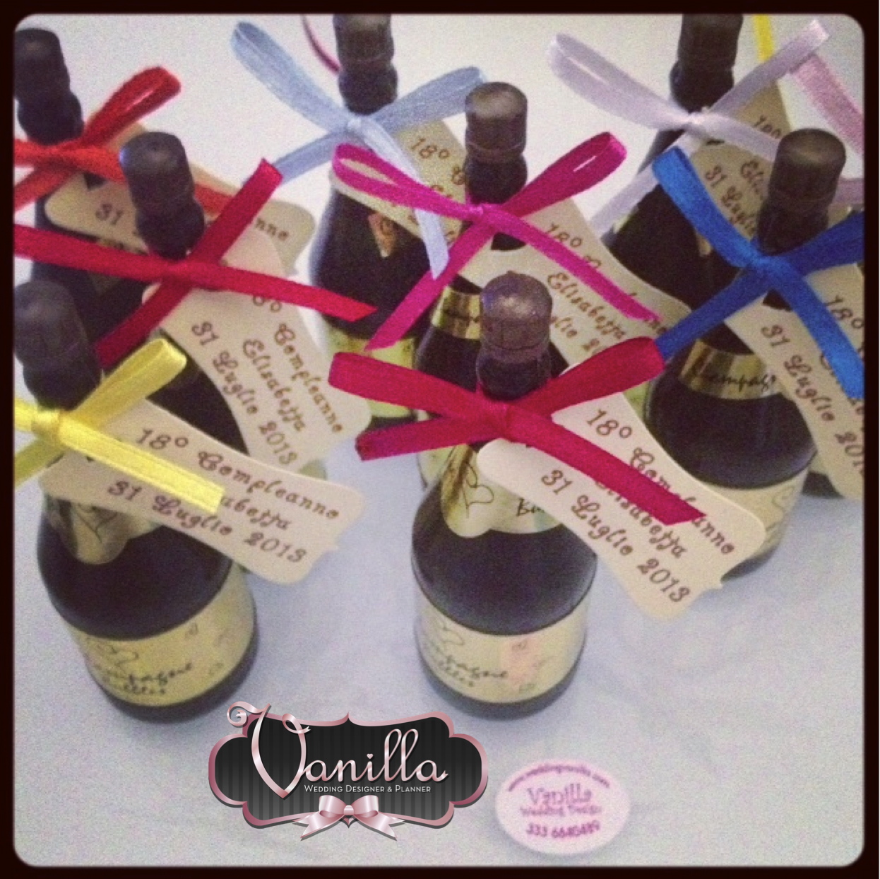 Extrêmement Vanilla Wedding Design: FESTA spumeggiante di 18 ANNI. auguri  JP62