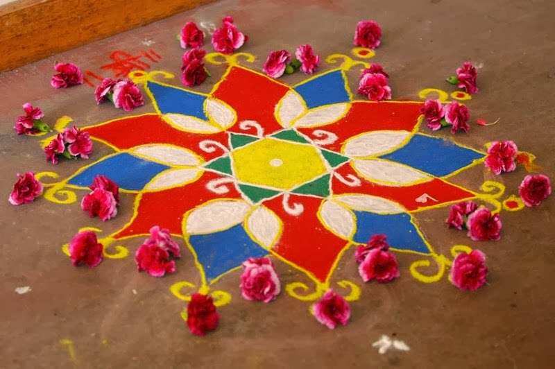 rangoli designs wallpaper stars - photo #27