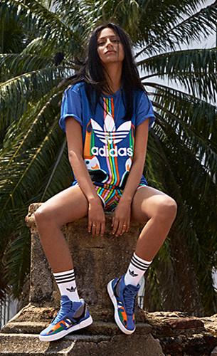 Farm y Adidas Originals camiseta y zapatillas deportivas