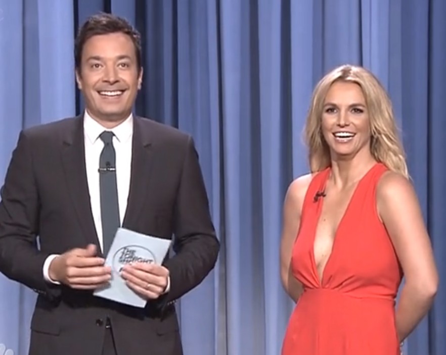 Jimmy Fallon Pros And Cons Of Hookup Britney Spears