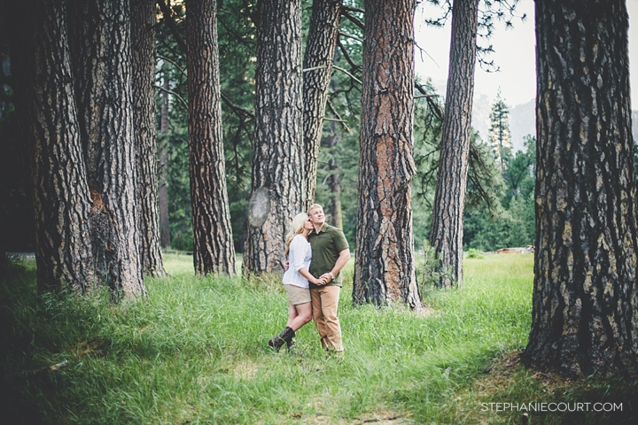 """engagement photos in yosemite nationla park"""