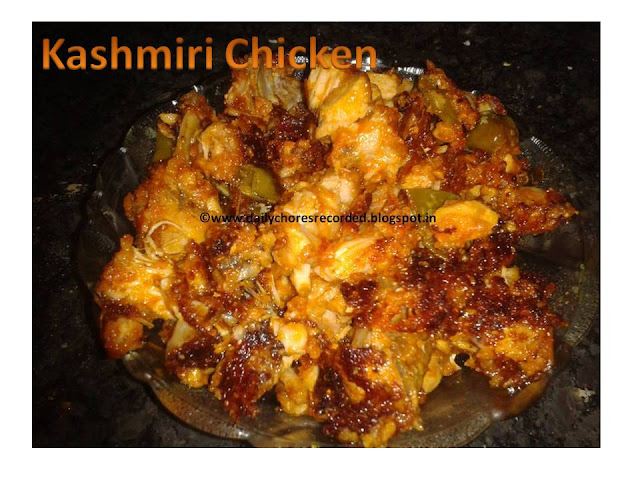 kashmiri chicken have you ever tried out this kashmiri chicken recipe ...