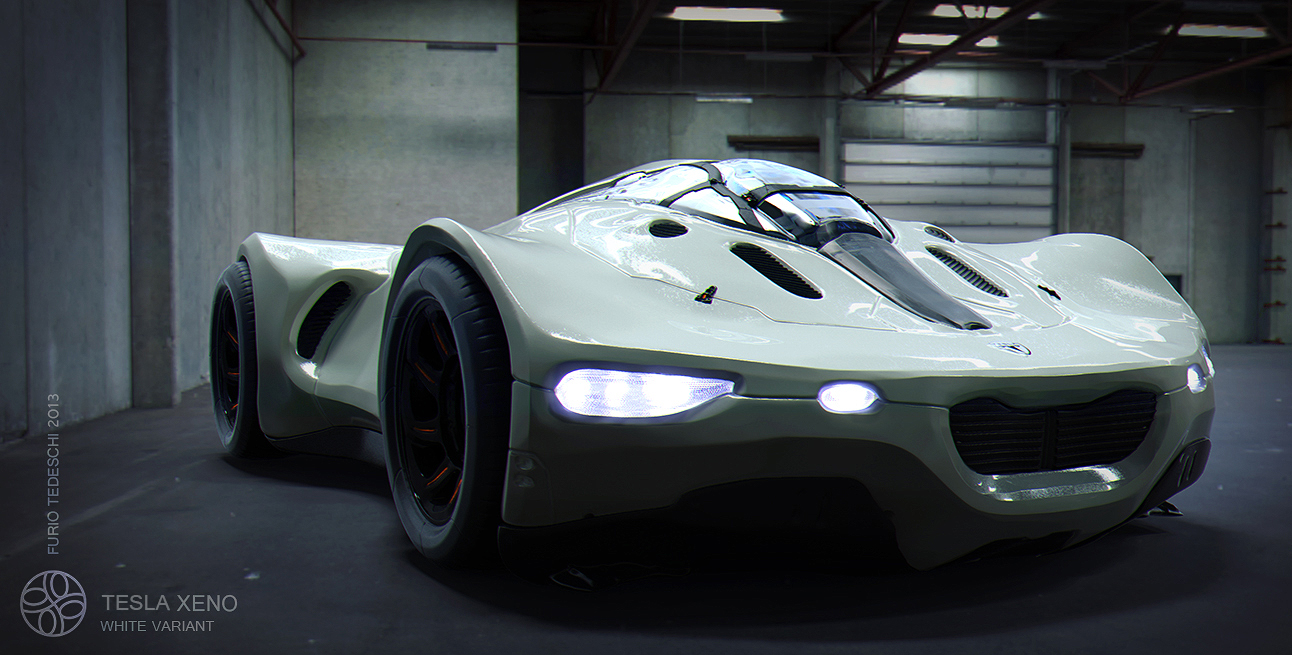 Gold Tesla Roadster >> Tesla Xeno by Furio Tedeschi : ImaginaryTechnology