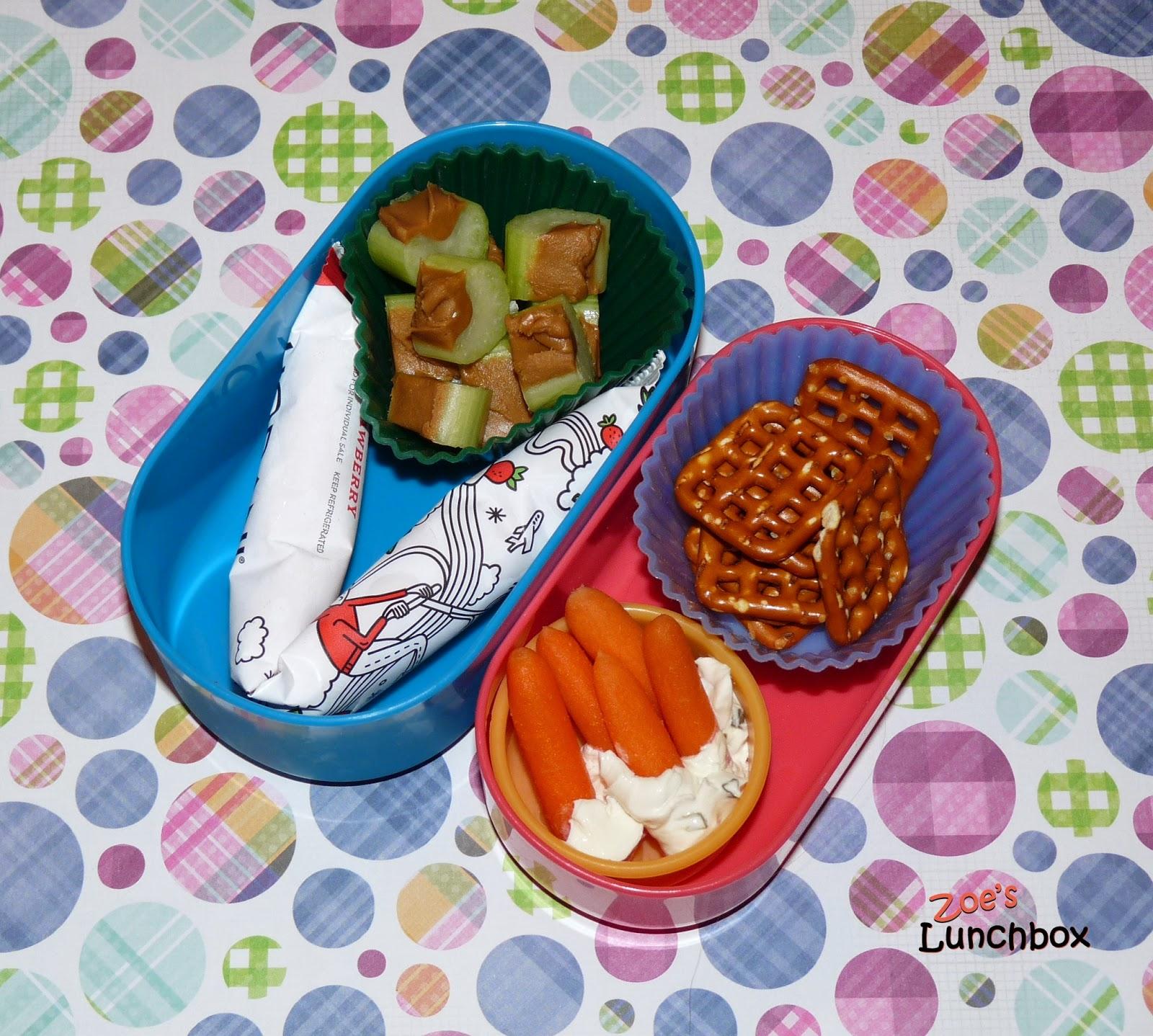 Kindergarten snack boxes