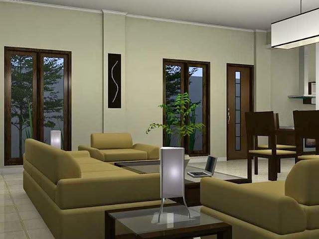 design interior ruang keluarga minimalis