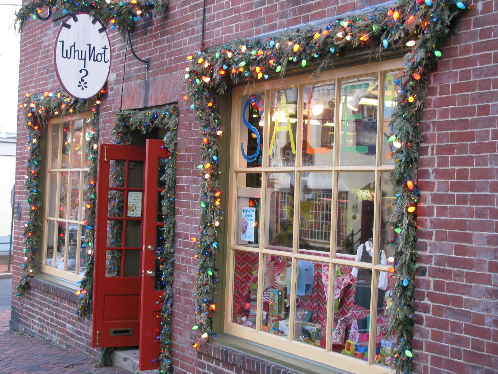 Christmas Toy Store : Mid atlantic musings old town alexandria part ii