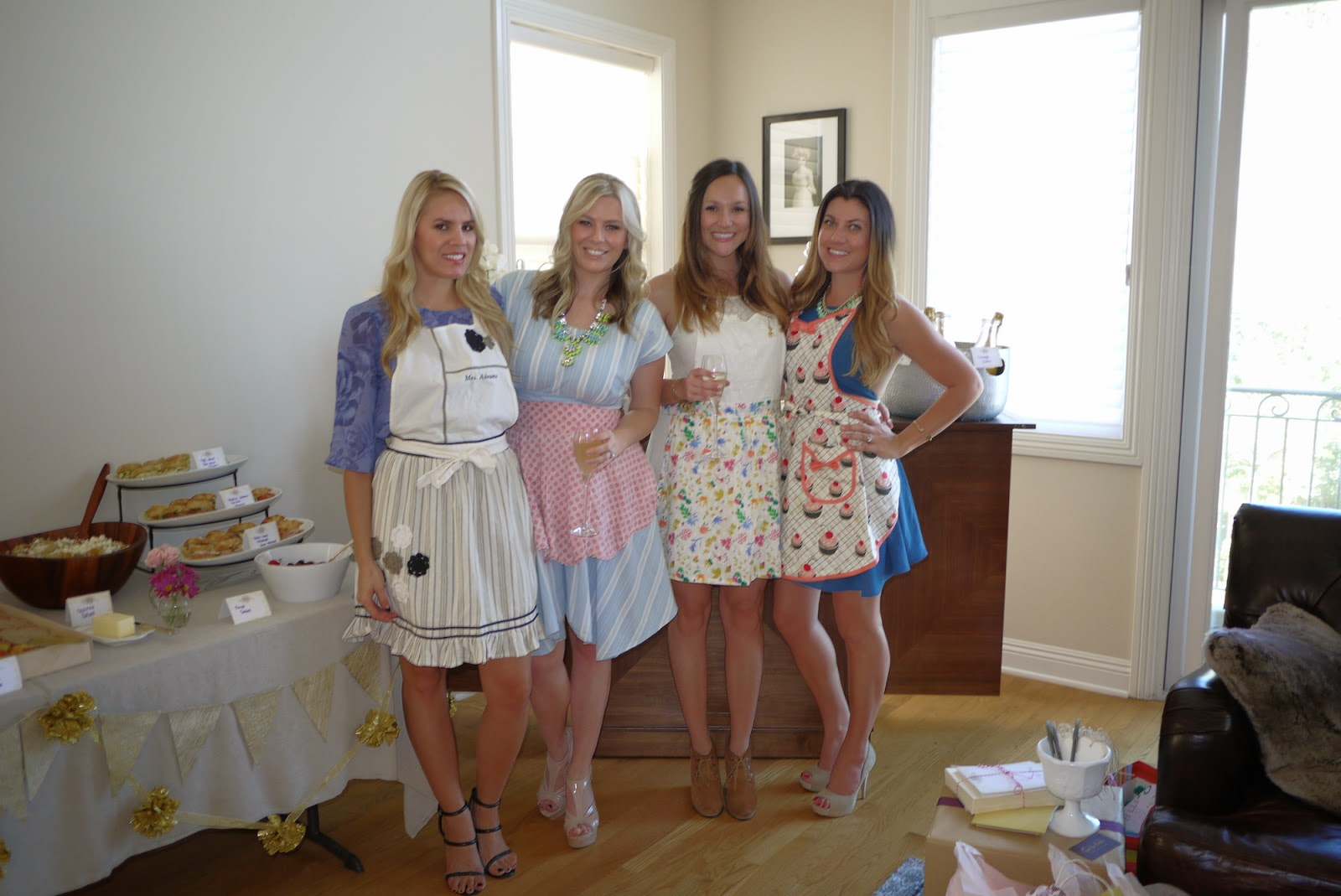 Gilded Girly Bridal Shower