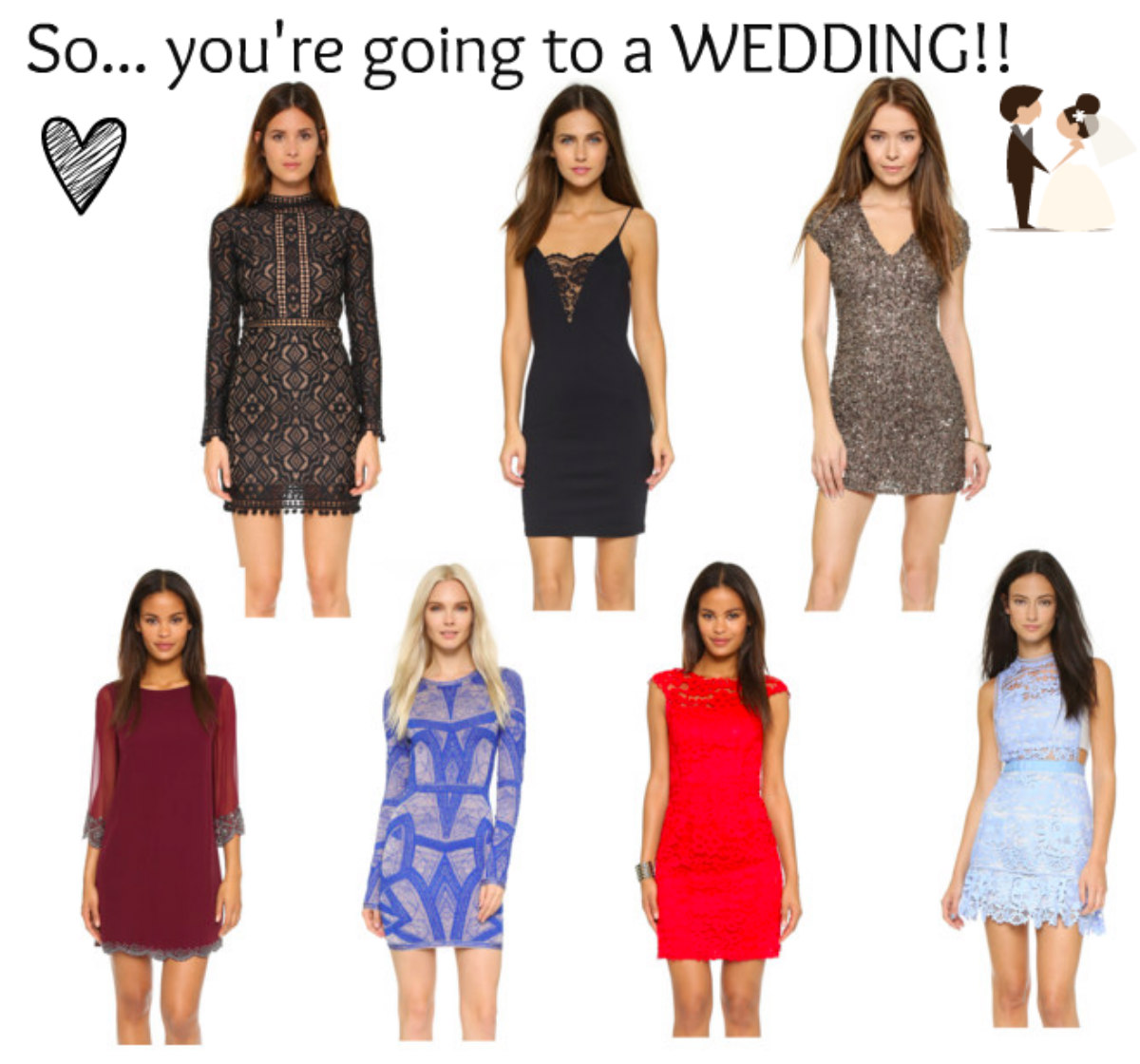 Girl Can dream… Fall Wedding Wear