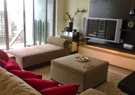 Desain Interior Ruang Keluarga Minimalis Modern