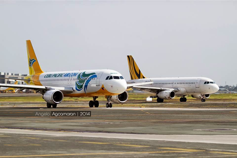 Cebu Pacific and AirAsia Zest Transfer Selected Flights