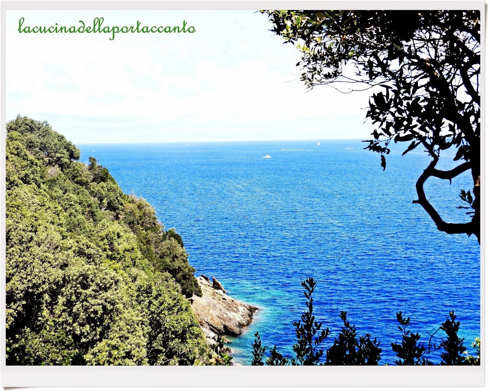 l'isola e il mare