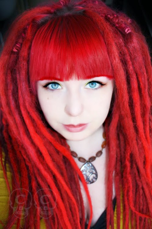 red dreads tumblr nail art and tattoo design ideas for