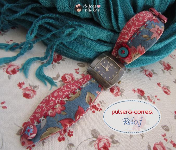 pulsera correa para el reloj patchwork
