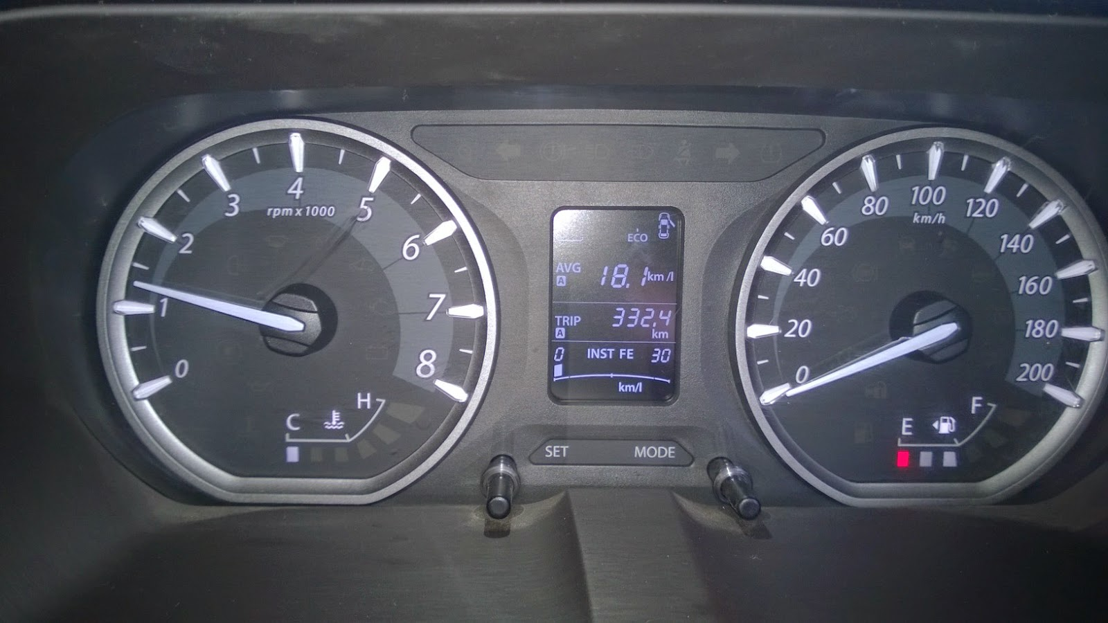 Tata zest mileage test