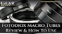 Fotodiox Macro Photography Extension Tubes, Review & How To Use | Gear Review
