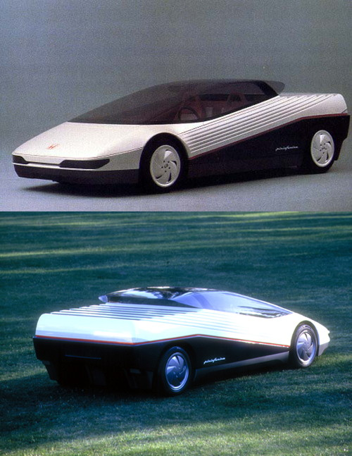 Honda HP-X concept 1984 turin motor show