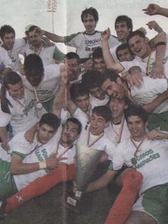 VENCEDOR TAÇA AFC [15-05-2011]