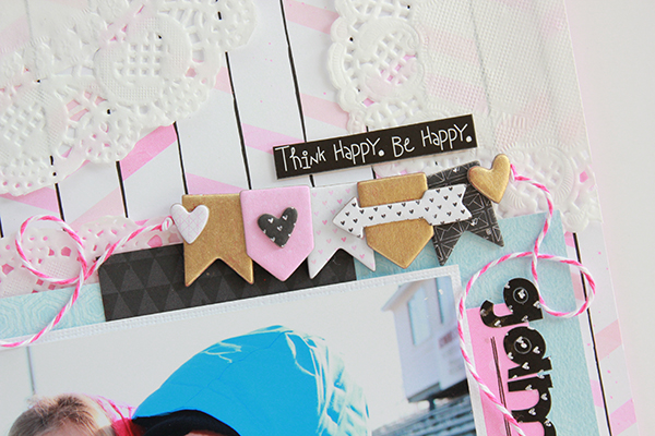 Doily Scrapbook Background and Converted Chipboard Tutorial