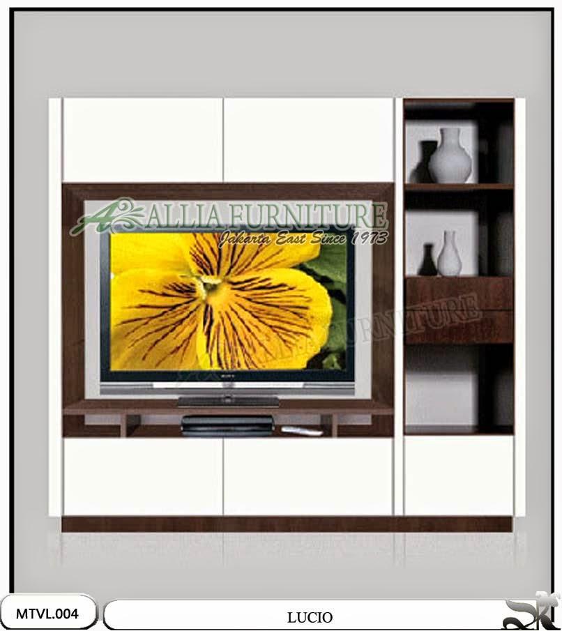 Lemari tv lcd stand minimalis lucio