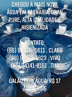 Água de qualidade e preço baixo