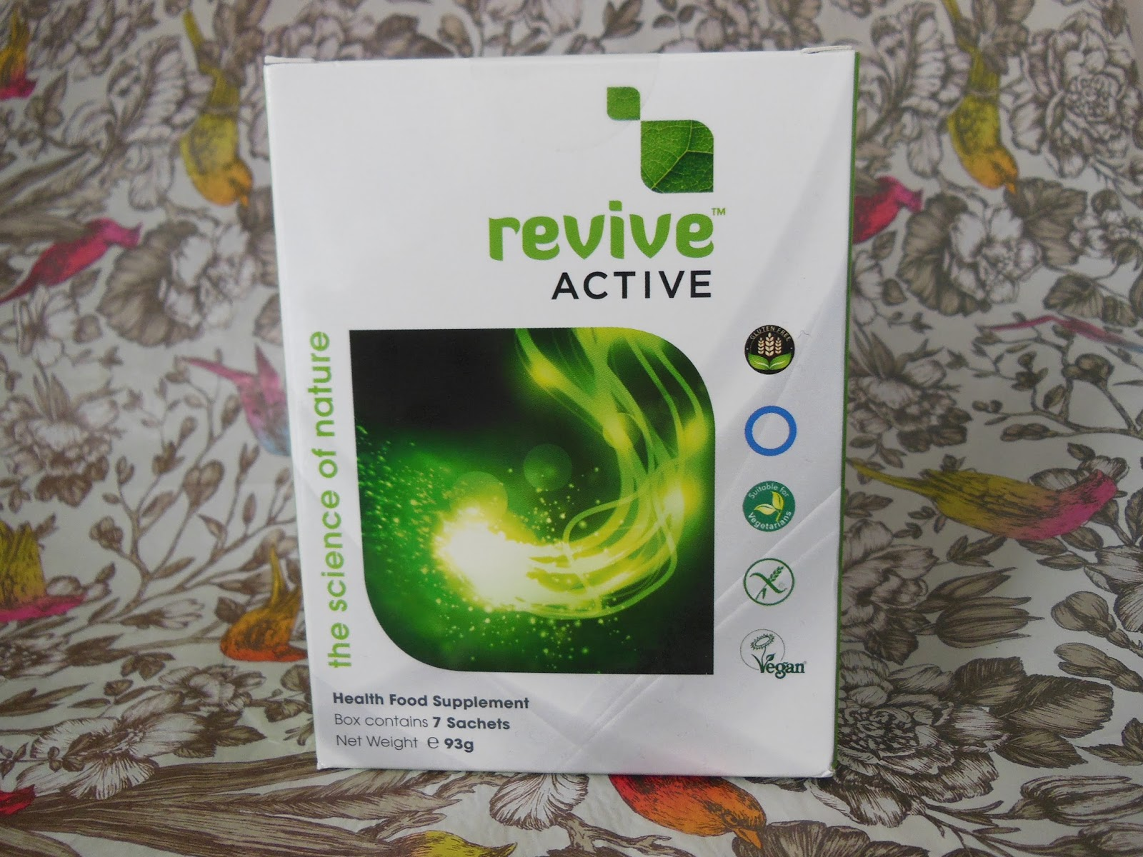 Revive Active food supplement box