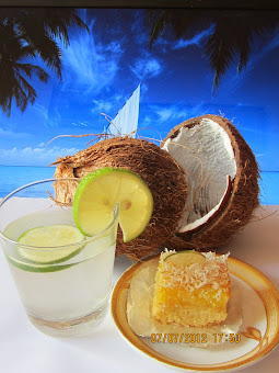 Coconut Lime Square
