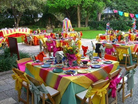 Fiestas Infantiles en el Jardín o al Aire Libre