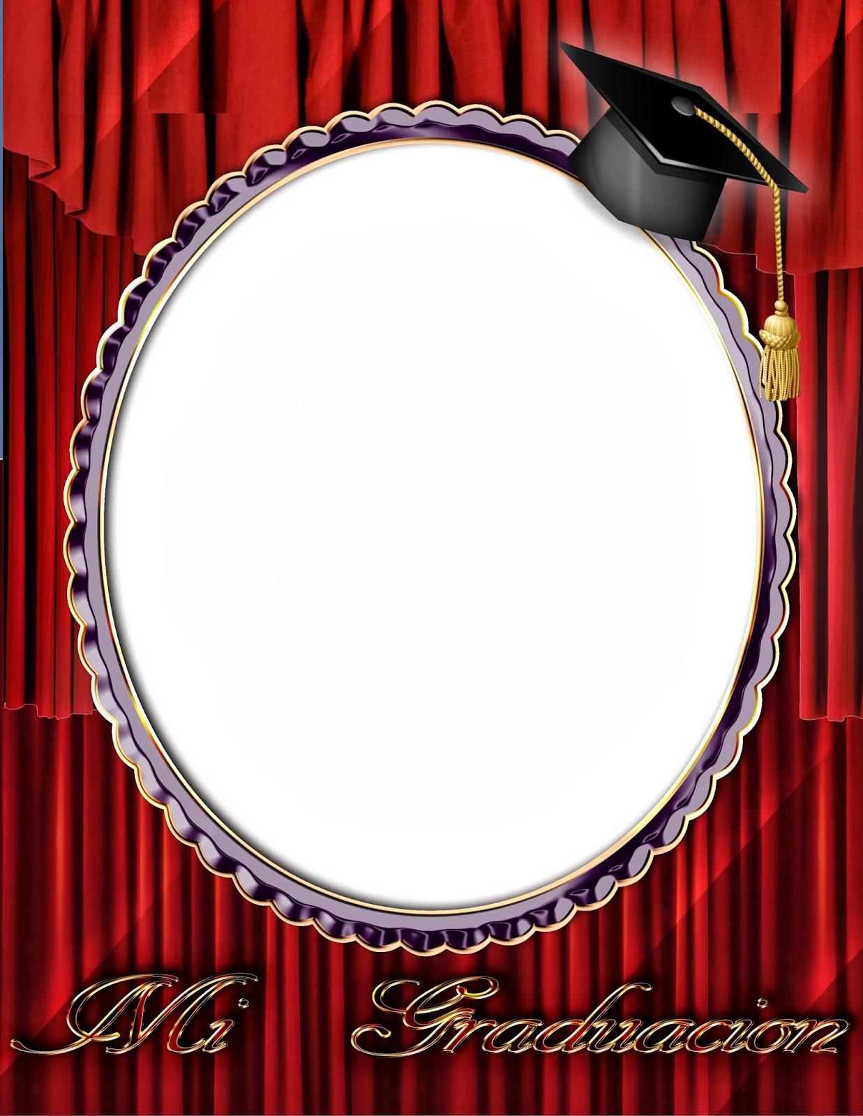 Marco digital para fotos de graduación | Photo Frames