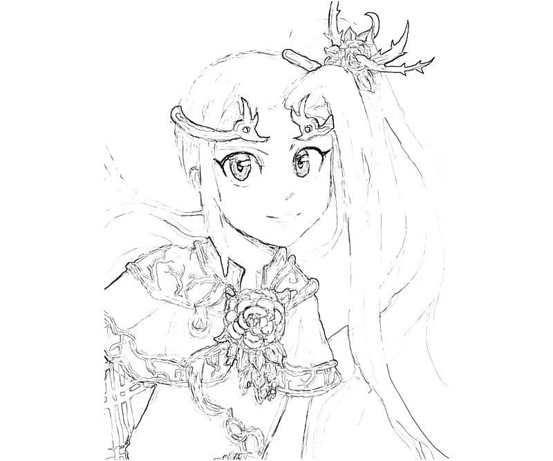 Kid Icarus Viridi Art Coloring Pages