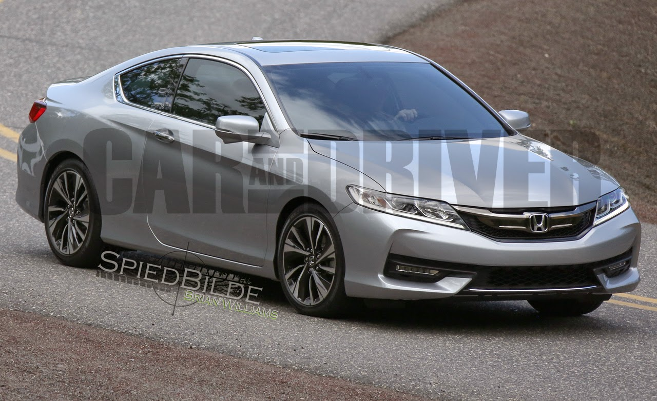 formerly the honda portal car driver gets first full spyshots of the 2016 honda accord coupe. Black Bedroom Furniture Sets. Home Design Ideas
