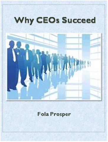 Why CEOs Succeed