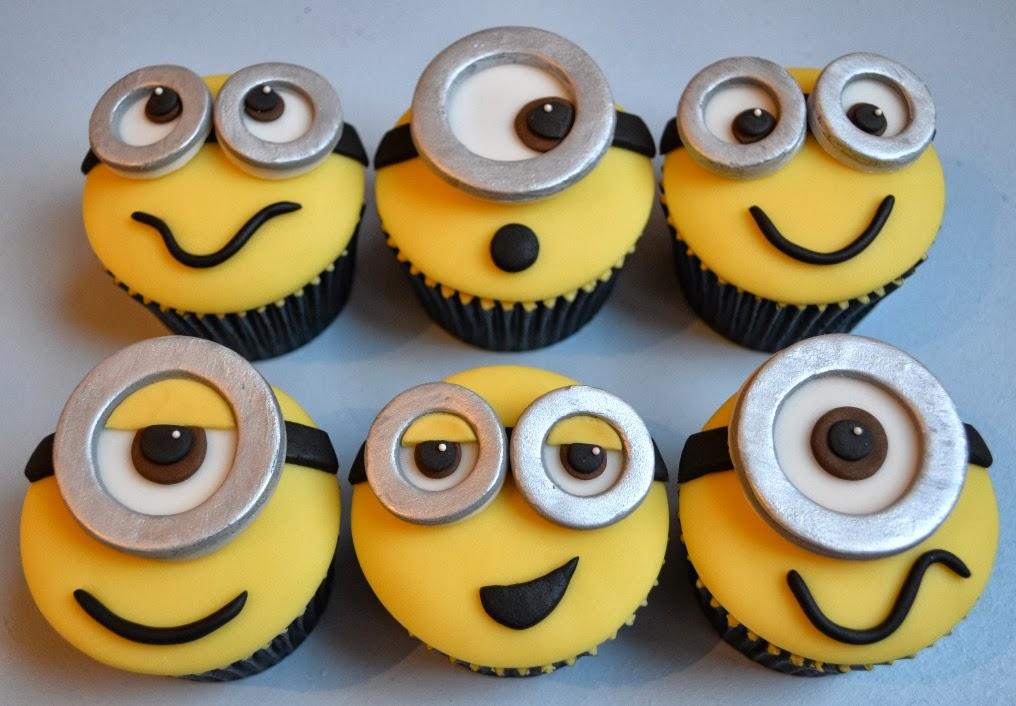 Little Paper Cakes Minion Cupcakes