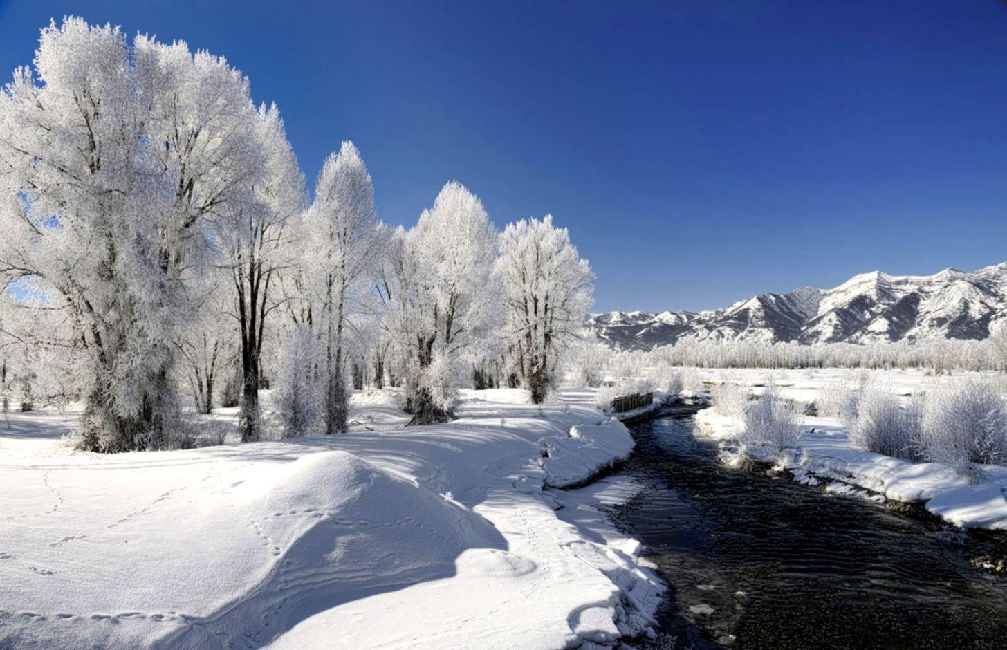 Winter Season Desktop Wallpaper