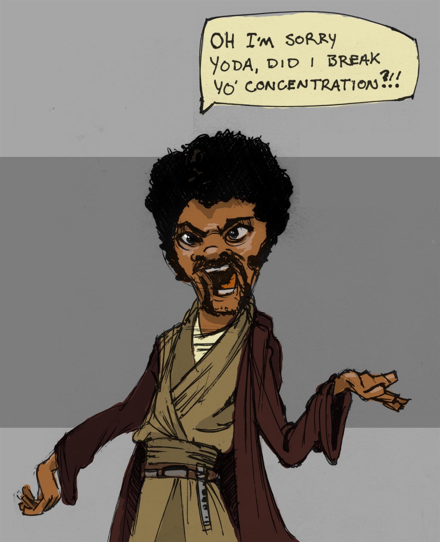 Star Wars  It s ON Samuel L Jackson Screaming