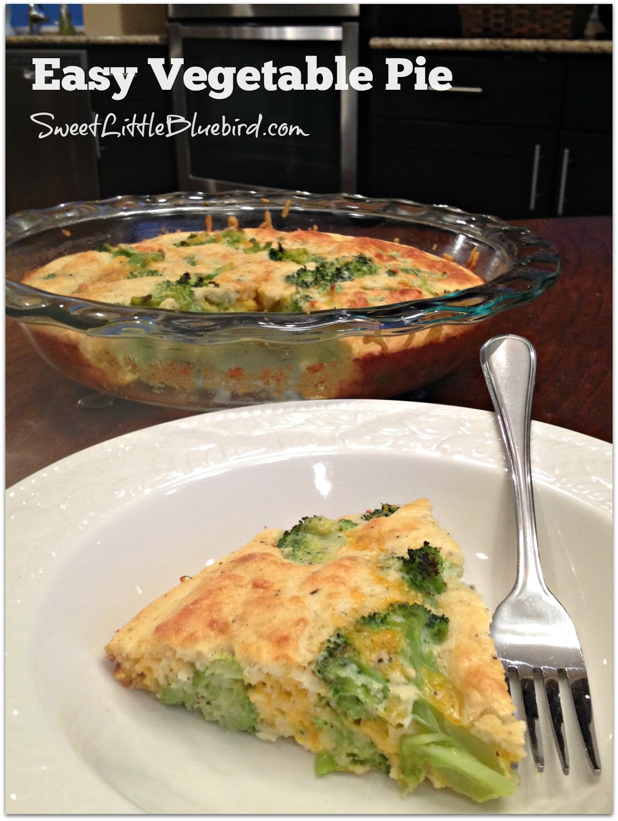 Sweet Little Bluebird: Easy Vegetable Pie