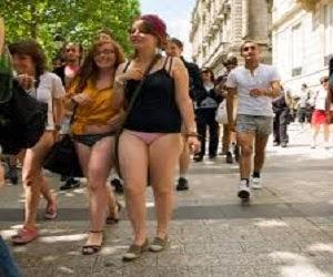 Tradisi hari tanpa celana
