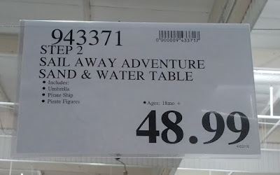Deal for the Step2 Sail Away Adventure Sand and Water Table at Costco