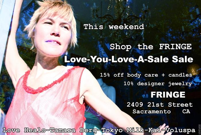Love-You-Love-A-Sale Sale at FRINGE