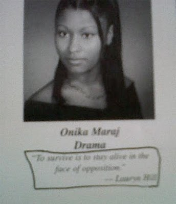 nicki minaj young age. Nickiwas discovered on my