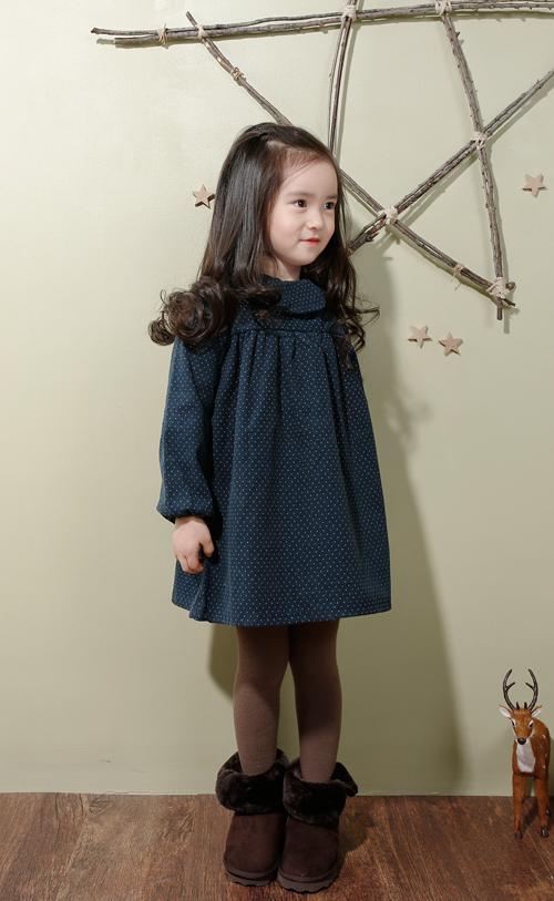 Kstylick Latest Korean Fashion K Pop Styles Fashion Blog The Jany Collared Polka Dot Dress