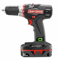 Craftsman 19.2 volt lithium battery C3 drill driver