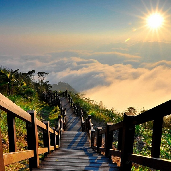 Yushan National Park  in Taiwan