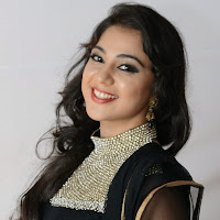 Krathi photo gallery in black salwar kameez